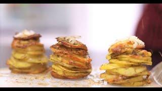Rakhi Special Recipe | Parmesan Potato Stacks | Best Baked Snack with Cheese and Potatoes