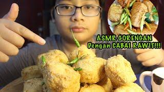 ASMR GORENGAN DENGAN CABE RAWIT PEDAS!!! (ASMR FRIED FOOD) - ASMR EATING SOUND (MUKBANG)