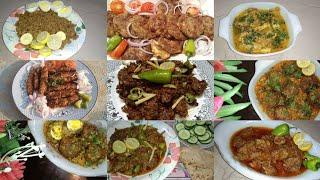 10 mutton recipes in Urdu Hindi and with English subtitles|davat recipes10 recipes|Easy Life Tricks|