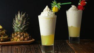 Pineapple Ice Cream Float For A Tropical Staycation • Tasty