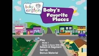 DVD Main Menu for Baby's First Moves - First Town Around Town 2009
