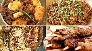 Best Mutton Recipes | Must Try Mutton Recipes For Lunch/Dinner | Restaurant Style Mutton Recipes