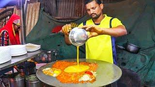 Roadside Rarely Prepared Party Egg Dishes | Cheese Egg Party Special | Indian Street Food