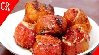 stuffed pork in tomatoes - Asian recipe - Cambodia recipe - Khmer food