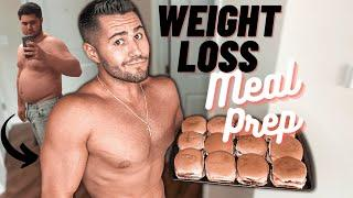 My Weight Loss Meal Prep Routine For Men | Meal Prep for Weight Loss + Healthy Meal Prep Ideas