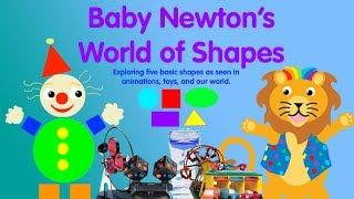 Baby Newton's World of Shapes