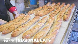 How French Baguettes Are Made In Paris | Regional Eats