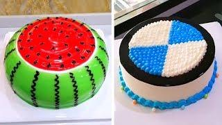 Fun & Simple Cake Decorating Ideas for Party | Easy Chocolate Cake Recipes| Perfect Cake Decorating