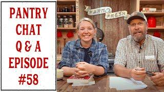 PANTRY CHAT Q & A + BIG ANNOUNCEMENT - EPISODE #58