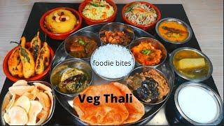 veg thali recipe| south india thali | special lunch thali recipes