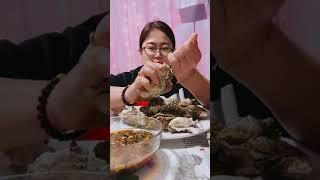 Seafood mukbang ASMR | Chinese Food ASMR | ASMR  Show Eating by #VshareKH [#45]