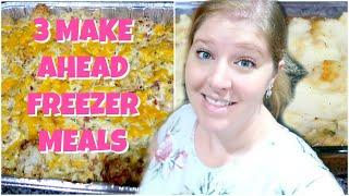 EASY FREEZER MEALS FOR BEGINNERS | COOK WITH ME | WHAT'S FOR DINNER