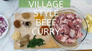 Beef Curry | Authentic Indian Recipe |