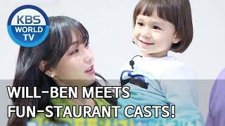 Will-Ben meets Fun-Staurant casts! [The Return of Superman/2020.04.05]
