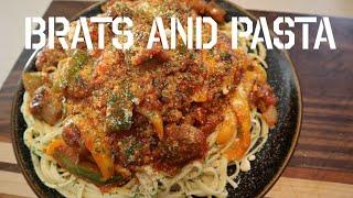 Delicious Quick N Simple Bratwurst and Pasta Recipe