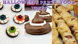 Easy Halloween Party Food Ideas | Halloween Party DIY Ideas | Simply Mama Cooks