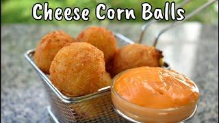 Cheese Corn Balls | Cheese Balls | Kids Snack | Party Snack | Cooking Basics