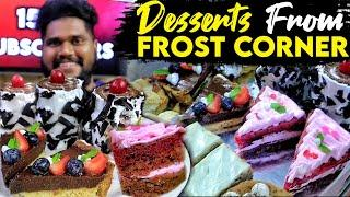 First time reviewing Italian Desserts | Desserts from Frost Corner |