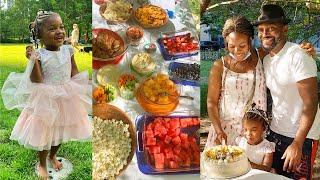 She turned 4! Simple Vegan Snack Ideas for Birthday Party [Kid-friendly]
