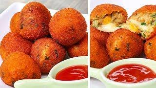 Potato Cheese Balls | Potato Snacks Recipes | Cheesy Snack Recipe | Toasted