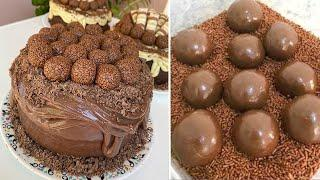 Satisfying Chocolate Cake Compilation | So Yummy Desserts Chocolate | The Best Chocolate Cake Ideas
