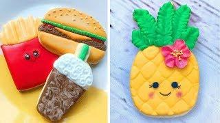Tasty Cookies Recipes | 10 Cute Cookies Decorating Design Ideas For Party | So Yummy Cookies