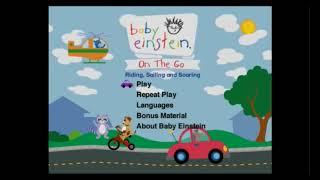 Baby Einstein  On The Go  DVD Menu Walkthrough