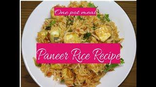 Paneer Fried Rice | Quick Lunch Recipe | One Pot Meal Recipe | Tiffin Recipe | By Aao Cook Karein