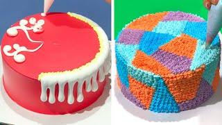 How to Make Cake Decorating for Party | Simple Chocolate Cake Recipes | Easy Cake Design Tutorials