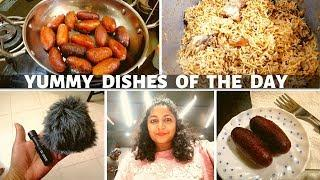 Preparing yummy dishes | All in one Dosa Maavu | Gulab Jamun | Chicken Biriyani | DIML TAMIL