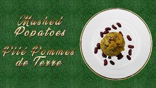 HOW TO COOK MASHED POTATOES (Pilé Pommes de Terre)!! BEST & SIMPLE WAY TO MIX POTATOES AND BEANS
