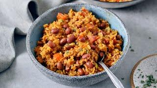 Spanish Rice and Beans | Easy Recipe