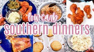 WHAT'S FOR DINNER 2021 | EASY WEEKNIGHT MEALS | LOW CARB SOUTHERN DINNERS