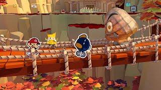 Paper Mario: The Origami King - Our Pal Bob-omb Keeps Getting Knocked Off (Switch Gameplay)