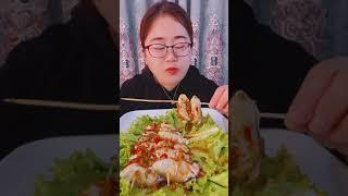 Seafood mukbang ASMR | Chinese Food ASMR | ASMR  Show Eating by #VshareKH #015
