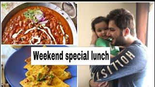 Weekend special lunch routine & toddler healthy Indian meal| #hindivlogs #toddlermealideas