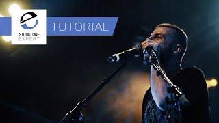 Studio One 5 - Get Ready To Play With Perform Menu In Show Page - Free Tutorial