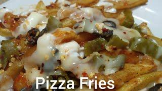 Pizza Fries Recipe/ No Oven Pizza Fries Recipe/ How To Make Pizza Fries/ Ramzan Special Recipe