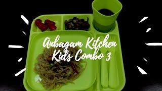 Kids Meal Combo - Feast 3 | Healthy Kids Meal | Kids Dinner recipe in Tamil with English sub-titles