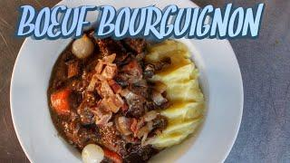 DUTCH OVEN BOEUF BOURGUIGNON - english Video-Recipe - 0815BBQ