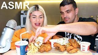 ASMR MOST POPULAR FOOD at KFC (Fried Chicken ,French Fries ,Salad,Pepsi)