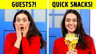 TOP Quick PARTY Snacks to amaze your Friends