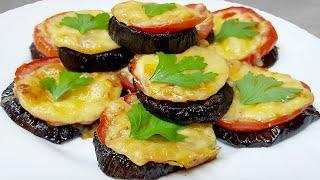 Never fry eggplants again! The most delicious eggplant appetizer recipe! GENTLE EGGPLANT RECIPE