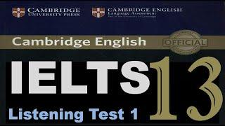 Cambridge IELTS 13 Listening Test 1 HD with Answers | Most recent IELTS Listening Test 2020