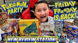 OUR FIRST UNBOXING IN OUR NEW HOUSE! OPENING PARTY! Pokemon Sent a Mystery Box of New Pokemon Cards!