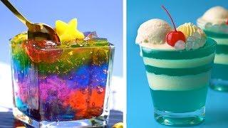 8 Easy Dessert Recipes | Homemade Jelly Tutorial For Your Family | So Yummy Cake