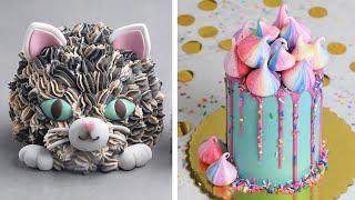 Most Satisfying Desserts Cakes Compilation | So Yummy Cake & Cookie Decorating Tutorials