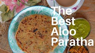 Punjabi Aloo Paratha Recipe - Healthy North Indian Breakfast by Archana's Kitchen