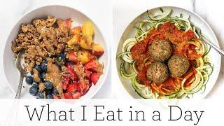 WHAT I EAT IN A DAY (VEGAN) ‣‣ easy & healthy vegan meals