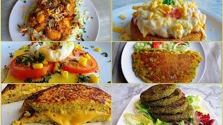 Delicious and Tasty 6 Healthy Dinner Ideas For Weight Loss| How to make Fitness Recipes